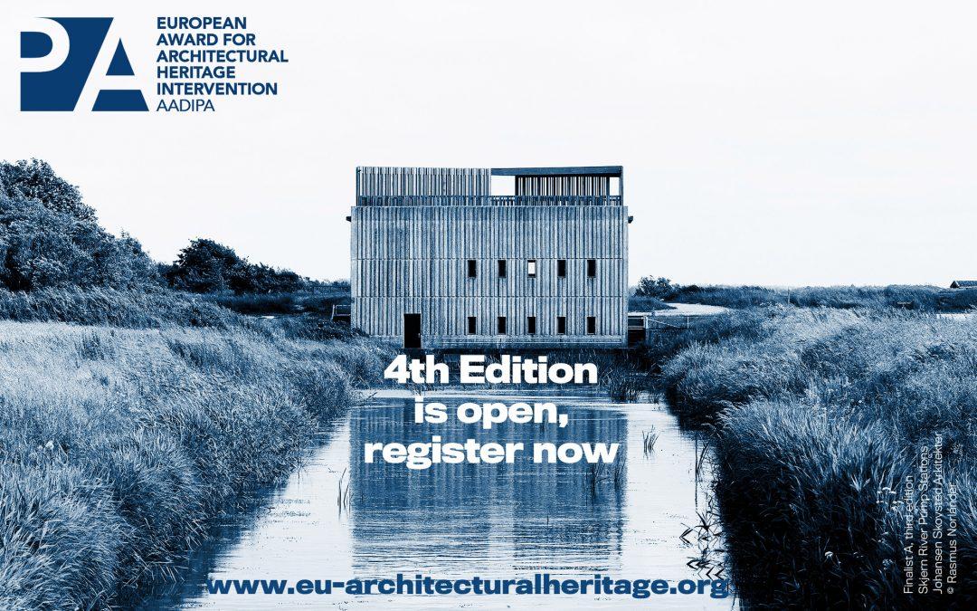 IV edizione European Award for Architectural Heritage Intervention AADIPA