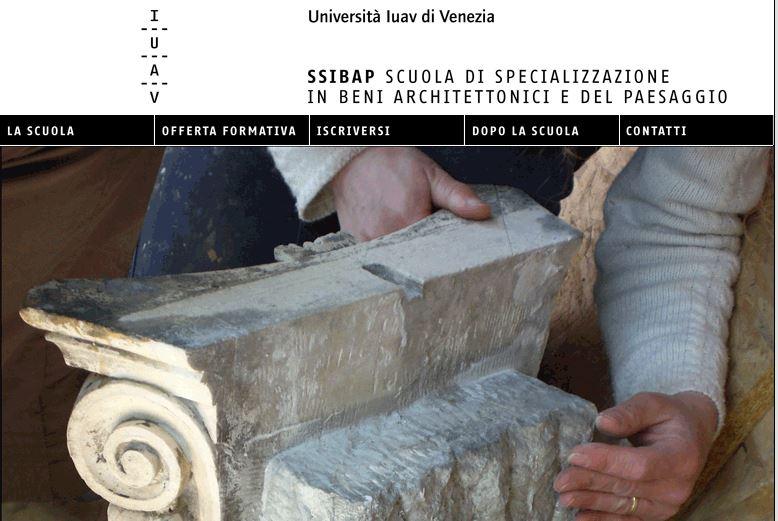 SSIBAP IUAV di Venezia A.A. 2019-20_Domande di iscrizione entro il 26 Novembre