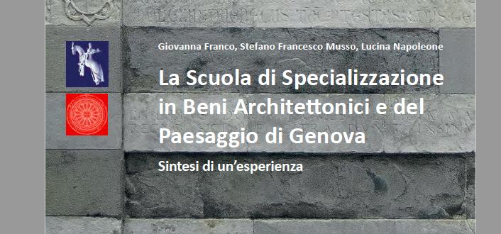 Scuola di Specializzazione di Genova. On line il volume che raccoglie i primi 25 anni