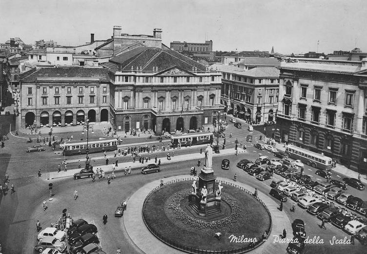 Concorso di idee per Piazza della Scala a Milano