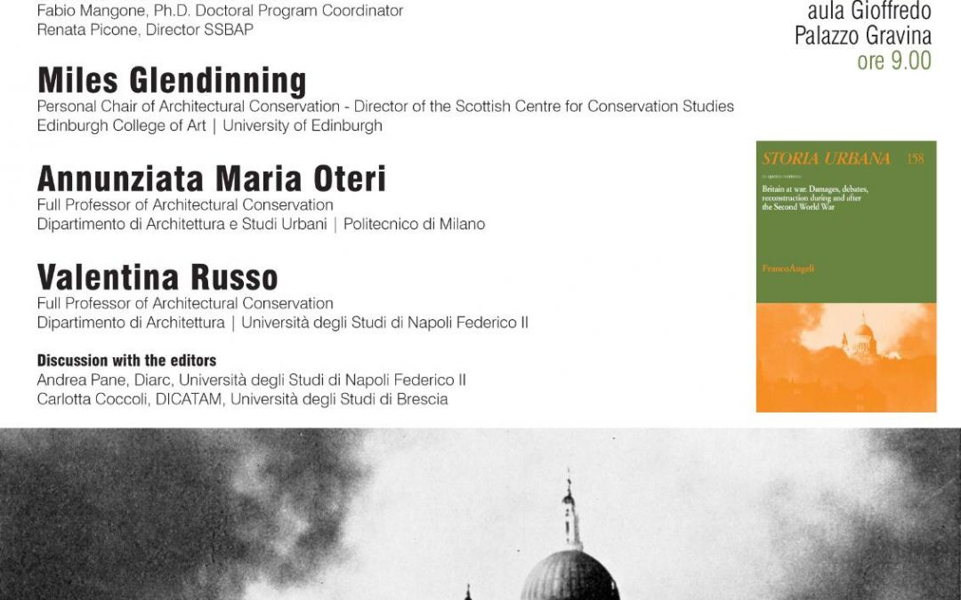 """""""Britain at war"""" – L'11 Giugno a Napoli presentazione del n.158 di Storia Urbana"""