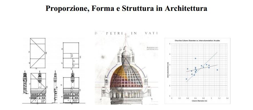 """""""Proporzione, Forma e Struttura in Architettura"""". Giornata di studi il 29 Maggio a Roma, Sapienza"""