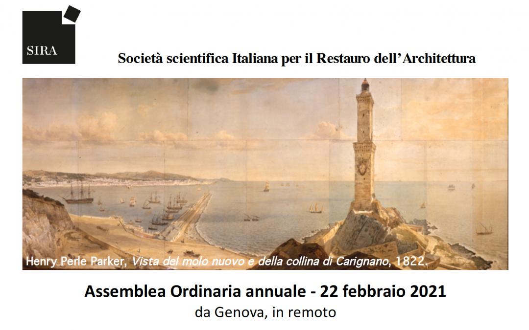 SIRA – il 22 febbraio – in remoto – l'Assemblea Ordinaria Annuale