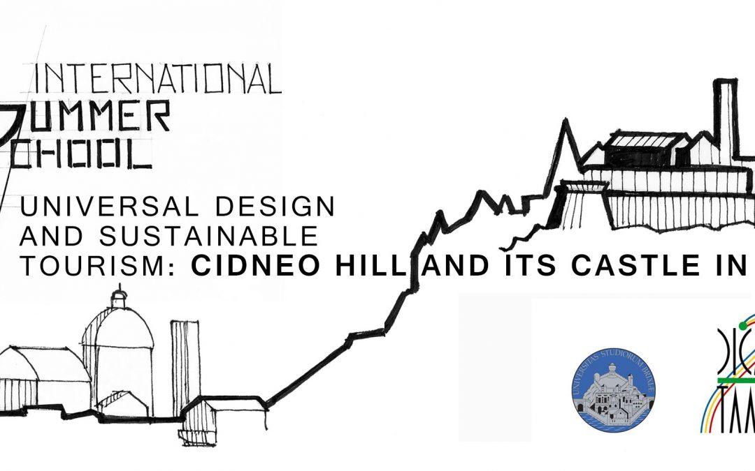 """Summer school """"UNIVERSAL DESIGN AND SUSTAINABLE TOURISM"""" (Brescia,17-22 luglio) – aperte le iscrizioni"""